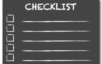 Fall Systems Checklist