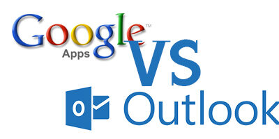 Outlook vs Google Apps. Which sexy system will save me?